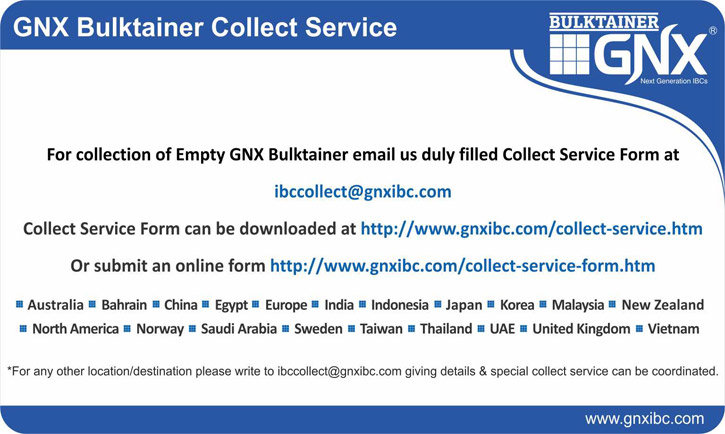 GNX Bulktainer Collect Service